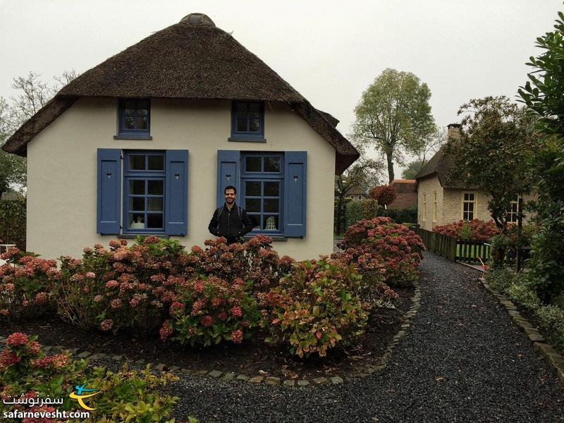 A beautiful house in Giethoorn village